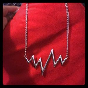 Jewelry - Heartbeat necklace. New
